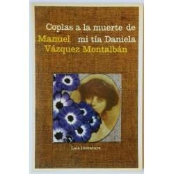 COPLAS A LA MUERTE DE MI TIA DANIELA