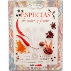 ESPECIAS DE RAICES Y FRUTOS