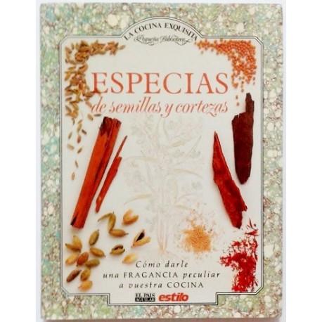 ESPECIAS DE SEMILLAS Y CORTEZAS
