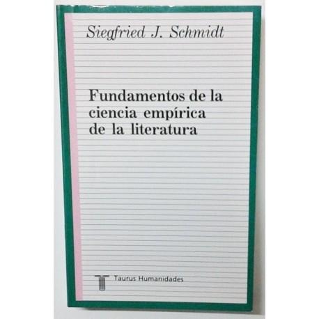 FUNDAMENTOS DE LA CIENCIA EMPIRICA DE LA LITERATURA