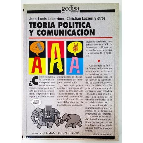 TEORÍA POLÍTICA Y COMUNICACIÓN