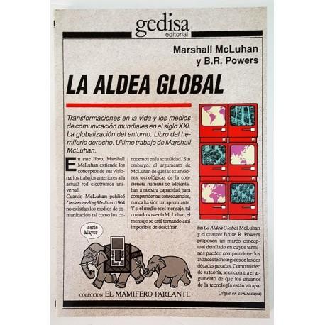 LA ALDEA GLOBAL: TRANSFORMACIONES EN LA VIDA Y LOS MEDIOS DE COMUNICACIÓN