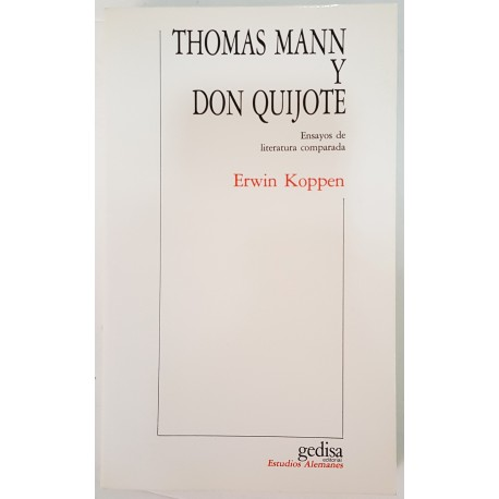 THOMAS MANN Y DON QUIJOTE