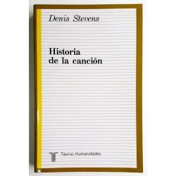 HISTORIA DE LA CANCIÓN