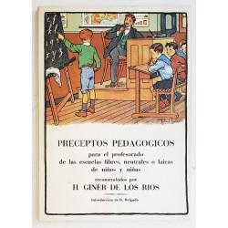 PRECEPTOS PEDAGÓGICOS