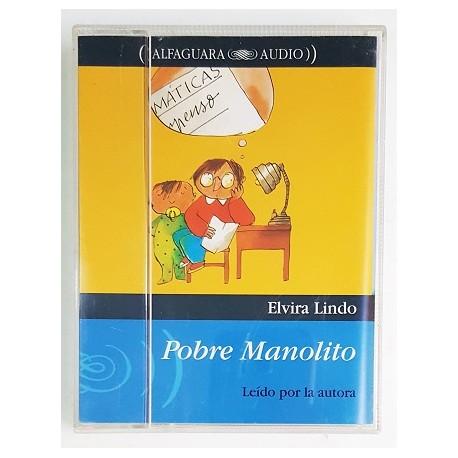 POBRE MANOLITO (2 CINTAS). LEÍDO POR LA AUTORA