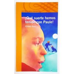 QUÉ SUERTE HEMOS TENIDO CON PAULE!