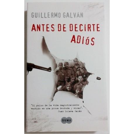 ANTES DE DECIRTE ADIOS
