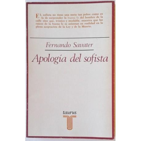 APOLOGÍA DEL SOFISTA