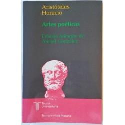 ARTES POÉTICAS. ARISTÓTELES. QUINTO HORACIO FLACO. EDICIÓN BILINGÜE