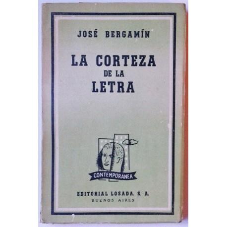 LA CORTEZA DE LA LETRA