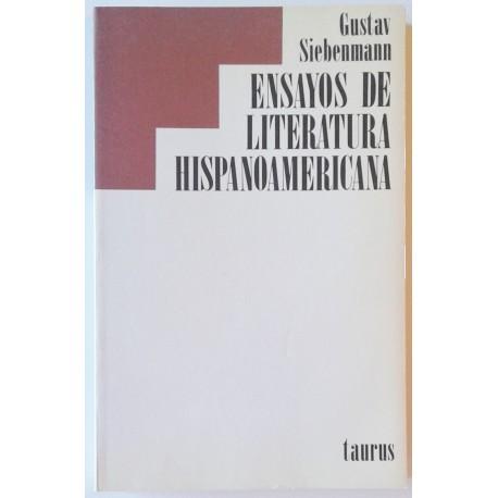 ENSAYOS DE LITERATURA HISPANOAMERICANA