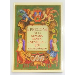 PREGÓN DE LA SEMANA SANTA. SEVILLA 1991