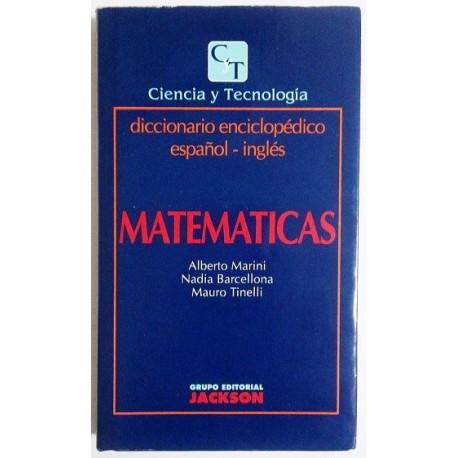 MATEMÁTICAS. DICCIONARIO ENCICLOPÉDICO ESPAÑOL-INGLÉS