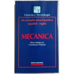 MECÁNICA. DICCIONARIO ENCICLOPÉDICO ESPAÑOL-INGLÉS