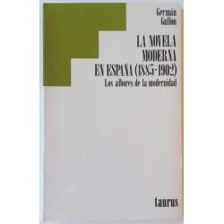 LA NOVELA MODERNA EN ESPAÑA 1885-1902